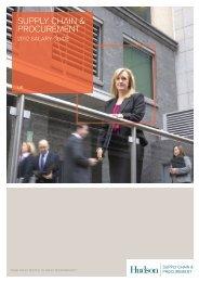 Supply Chain & Procurement Salary Survey 2012 - Hudson