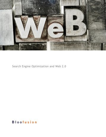 Search Engine Optimization and Web 2.0