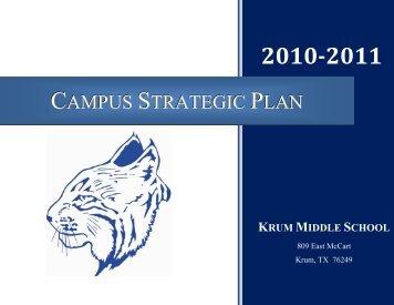 Campus Strategic Plan - Krum, Texas Independent School District