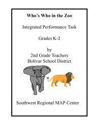 Who's Who in the Zoo - Discovery Center