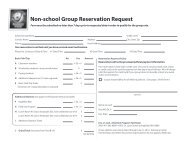 Download the reservation form. - Discovery Center