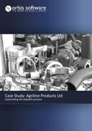 Case Study: Agriline Products Ltd - Orbis Software Ltd