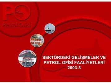 03/2003 - Petrol Ofisi