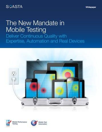 Mobile Test Labs - Soasta
