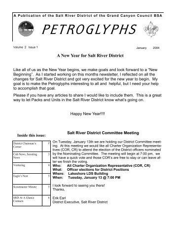 PETROGLYPHS - AzScout.Org