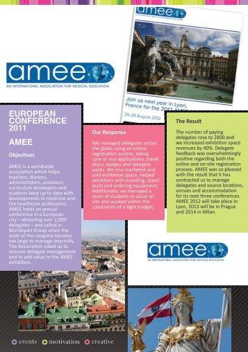 Worldspan New Case Studies - AMEE.indd - Worldspan Group
