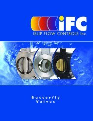 Butterfly Valves - ISLIP Flow Controls