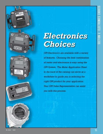 Electronics - Trillium Measurement & Control