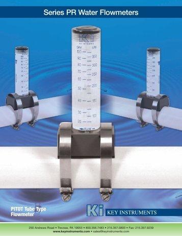 Series PR Water Flowmeters