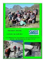 Oberstdorf - Silvretta 11.09.2011 bis 16.09.2011 - Alpinschule OASE ...