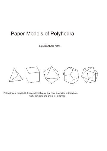 paper-polyhedra