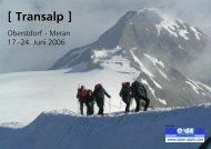 [ Transalp ] - Alpinschule OASE-Alpin