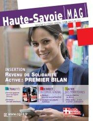 MAG CG74 128:Mise en page 1 - Conseil Général de Haute-Savoie