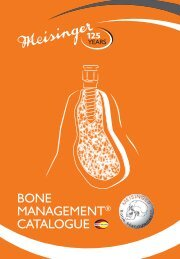 Bone Management Catalogue