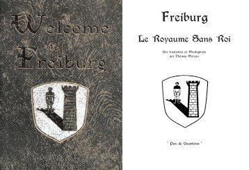 Guide de Freiburg.qxp - Encyclopédie Pittoresque de Théah