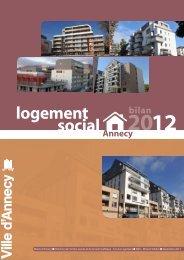 Bilan logement social 2012 Annecy