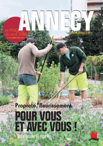 Magazine 222-juillet-août 2012 - Annecy