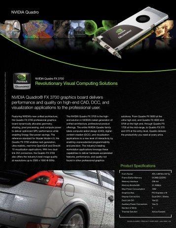 Revolutionary Visual Computing Solutions - NVIDIA
