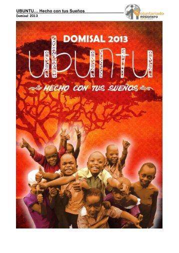 UBUNTU… Hecho con tus Sueños