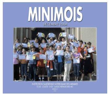 La rentrée 2004 - Minimes