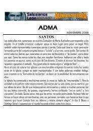 ADMA Noviembre 2006 - Salesianos en España