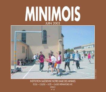 JUIN 2003 - Minimes