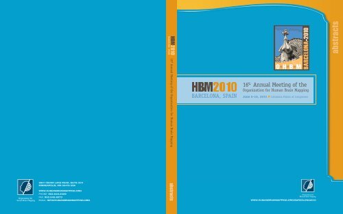 Hbm2010 Organization For Human Brain Mapping