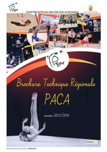 brochure paca generale - Gymnastiquesix-fours.fr