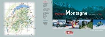 Politique montagne - Conseil Général de Haute-Savoie