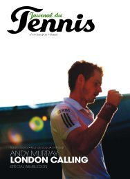 N°13 - juin 11 - Journal du Tennis