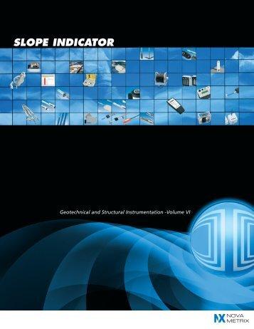 Slope Indicator 2011 Short-Form Catalog