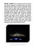 CUIDADOS AO DIRIGIR EM ESTRADAS E RODOVIAS  - Page 6