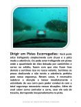 CUIDADOS AO DIRIGIR EM ESTRADAS E RODOVIAS  - Page 7