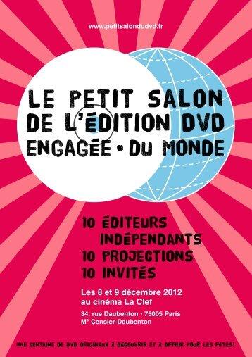 Programme (PDF) - Le Petit Salon du DVD