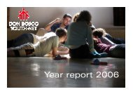 Year report 2006.pdf - Don Bosco Youth-Net