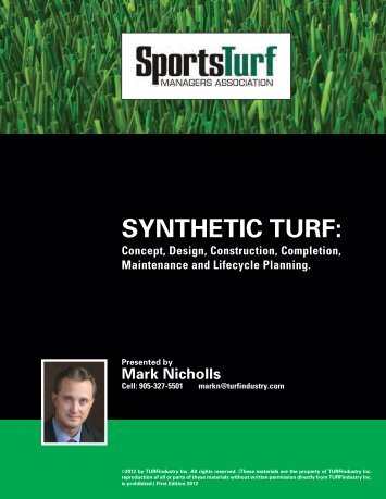 SYNTHETIC TURF: - STMA