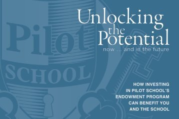 Download Planned Giving Brochure - The Pilot School