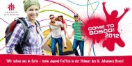 PDF-Download Flyer - Come to Bosco