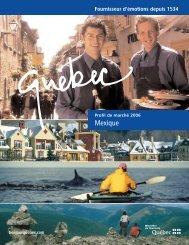 Format pdf, 1,3 Mo - Tourisme Québec