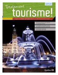 Volume 1, numéro 2 - Tourisme Québec - Gouvernement du Québec