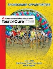 TourdeCure Bro9:ADA Brochure - American Diabetes Association
