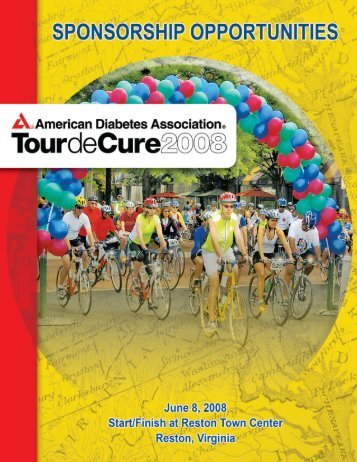TourdeCure Bro9:ADA Brochure - American Diabetes Association
