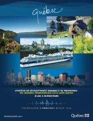 Format Pdf, 2 Mo - Tourisme Québec - Gouvernement du Québec