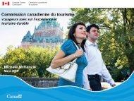 la montée du tourisme durable