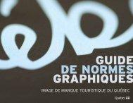 Signature et Image de marque - Tourisme Québec