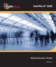 SafeWord 2008 Administration Guide - SafeNet