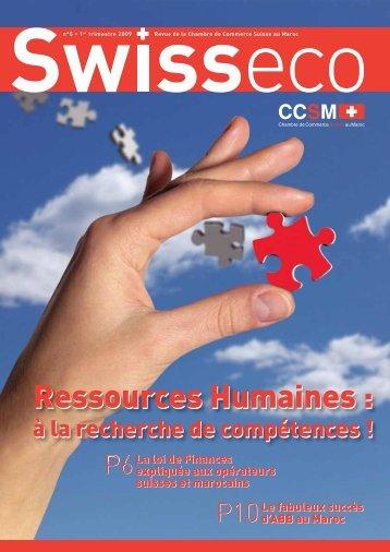 Revue CCSM n5 ok.indd - Chambre de commerce Suisse au Maroc