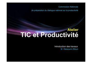 TIC et Productivité