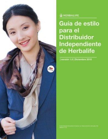 Normas e Instrucciones de Uso (PDF) - Herbalife