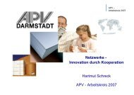 Arbeitskreis 2007 - APV Darmstadt
